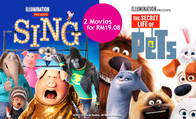 SING & THE SECRET LIFE OF PETS