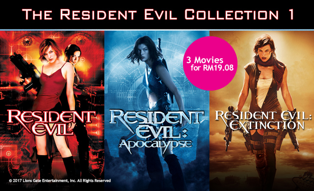 THE RESIDENT EVIL COLLECTION 1