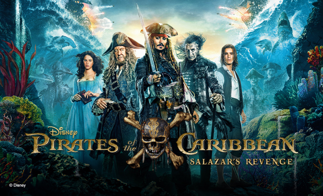 PIRATES OF THE CARIBBEAN .....